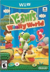 Caja de Yoshi's Woolly World (América)