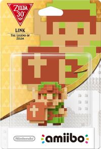 Embalaje europeo del amiibo de Link (The Legend of Zelda) - Serie 30 aniversario TLoZ