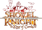 Logo de Shovel Knight - King of Cards