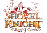 Logo de Shovel Knight - King of Cards