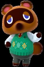 Tom Nook en Animal Crossing amiibo Festival
