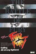 Ilustración FATAL FURY King of Fighters