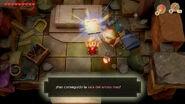 Link desbloqueando la sala del armos max - The Legend of Zelda Link's Awakening