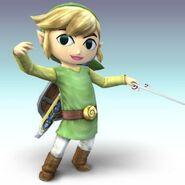 Toon Link en Super Smash Bros. Brawl