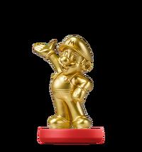 Amiibo Mario - Edición oro - Serie Super Mario