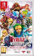 Caja de Hyrule Warriors Definitive Edition (Europa)