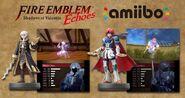 Imagen promocional amiibo en Fire Emblem Echoes Shadows of Valentia