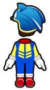 Atuendo de Sonic - Mario Kart 8