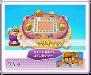 Tablero Wario amiibo Party - Mario Party 10
