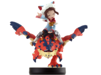 Amiibo Rathalos tuerto y Jinete (mujer) - Serie Monster Hunter