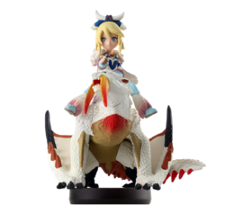 Amiibo beta de Hyouga y Ayulia - Serie Monster Hunter