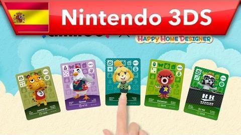 Animal Crossing Happy Home Designer- Éstas son las nuevas tarjetas amiibo (Nintendo 3DS)