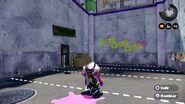 Conjunto completo del amiibo del calamar inkling en combate - Splatoon