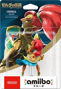 Embalaje japonés del amiibo de Urbosa - Serie The Legend of Zelda