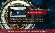 Selección de Juicio de Mila - Fire Emblem Echoes Shadows of Valentia