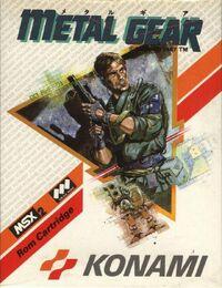 Caja de Metal Gear (Europa)