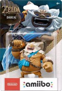 Embalaje americano del amiibo de Daruk - Serie The Legend of Zelda