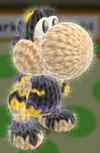 Patrón Pit Sombrío - Yoshi's Woolly World