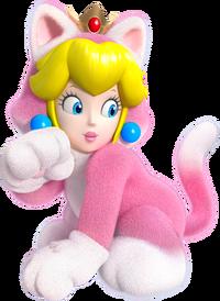 Peach Felina en Super Mario 3D World