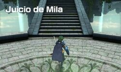Entrada del Juicio de Mila - Fire Emblem Echoes Shadows of Valentia
