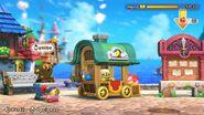 Estatua amiibo en Super Kirby Clash