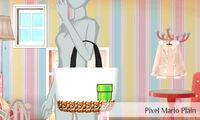 Mario pixelado sencillo - Nintendo presenta New Stlye Boutique 3 Estilismo para celebrities