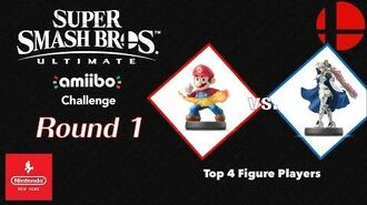 "Nintendo NY amiibo Challenge ""Top 4 Figure Players"" - Round 1"