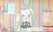 Pueblo con hojas - Nintendo presenta New Stlye Boutique 3 Estilismo para celebrities