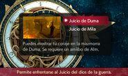 Selección de Juicio de Duma - Fire Emblem Echoes Shadows of Valentia