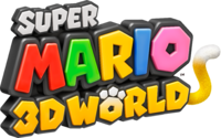 Logo de Super Mario 3D World