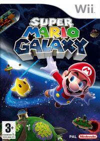 Caja de Super Mario Galaxy (Europa)