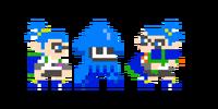 Traje de Inkling chico - Super Mario Maker