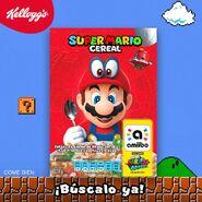 Imagen promocional de Super Mario Cereal en México