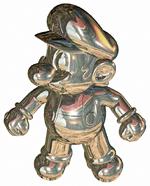 Mario de metal en Super Mario 64