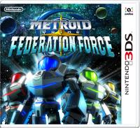 Caja de Metroid Prime - Federation Force