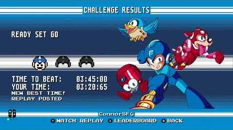 Mega Man Legacy Collection (Nintendo Switch)- Gameplay Footage (amiibo Challenges)