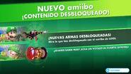 Armas amiibo desbloqueadas (Luigi) - Mario + Rabbids Kingdom Battle