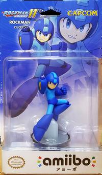 Embalaje japonés del amiibo de Mega Man - Serie Mega Man