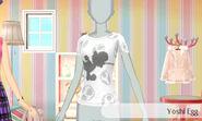 Yoshi con huevos - Nintendo presenta New Stlye Boutique 3 Estilismo para celebrities