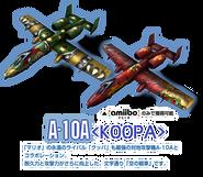 Modelos de los cazas del amiibo de Bowser - Ace Combat Assault Horizon Legacy +