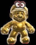 Conjunto de Mario Dorado - Super Mario Odyssey