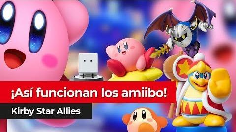 Amiibo en Kirby Star Allies para Nintendo Switch Así funcionan