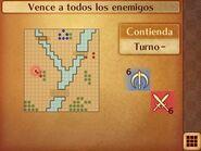 Mapa inicial de la contienda de Lucina - Fire Emblem Fates