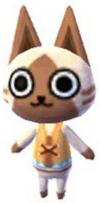 Aldeano Felyne en Animal Crossing New Leaf - Welcome amiibo