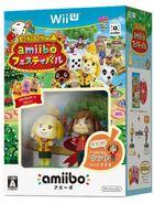 Pack de Anima Crossing amiibo Festival y amiibo de Canela, Candrés (figuras), Tere, Minina y Parches (tarjetas) (Japón)