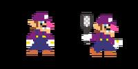 Traje de Waluigi - Super Mario Maker