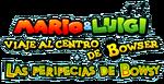 Logo de Mario & Luigi - Viaje al centro de Bowser + Las peripecias de Bowsy