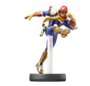 Amiibo Captain Falcon - Serie Super Smash Bros.
