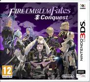 Caja de Fire Emblem Fates - Conquista (Europa)