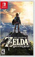 Caja de The Legend of Zelda - Breath of the Wild (Nintendo Switch) (América)